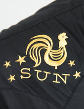 Sun Records Rooster Crow Western Shirt