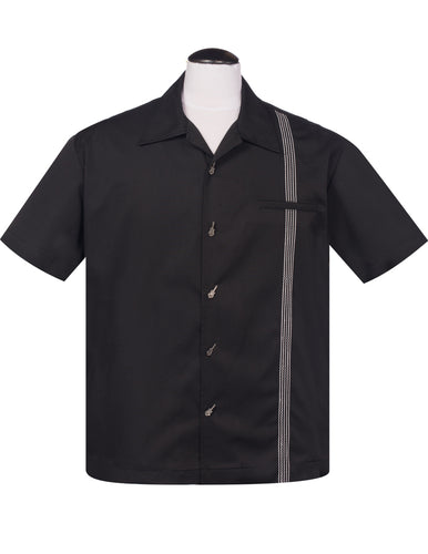 Steady Clothing The Six String Button Up in Black