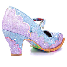 Irregular Choice Shortie Bread Shoes - Lavender & Blue