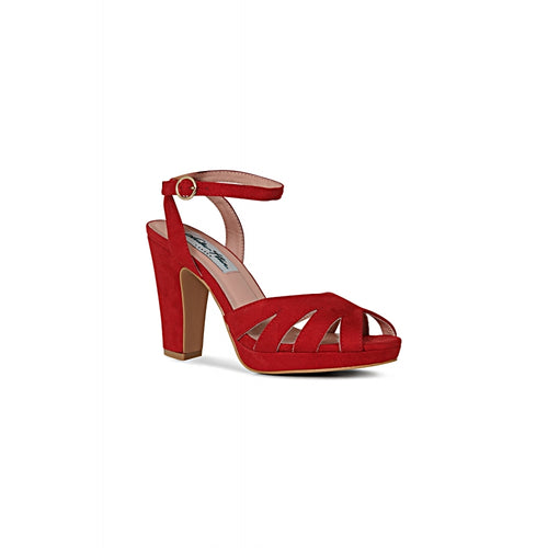 Lulu Hun Jemima High Heels - Red