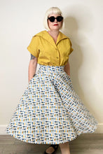 The Oblong Box Shop School of Fish Circle Skirt