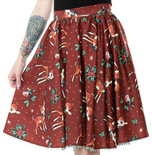 Sourpuss Deer Me Sweets Skirt - Cinnamon
