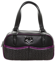 Sourpuss Jinx Tessa Purse in Black/Purple