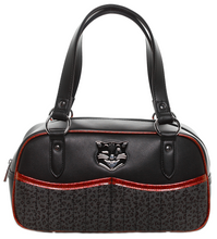 Sourpuss Jinx Tessa Purse - Black & Red