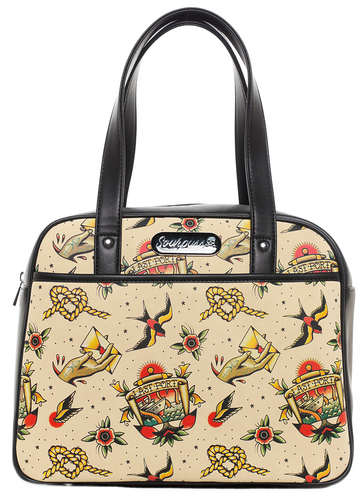 Sourpuss Last Port Bowler Purse
