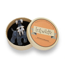 Erstwilder Fan Favourites The Schnauzer and Klaus Brooch