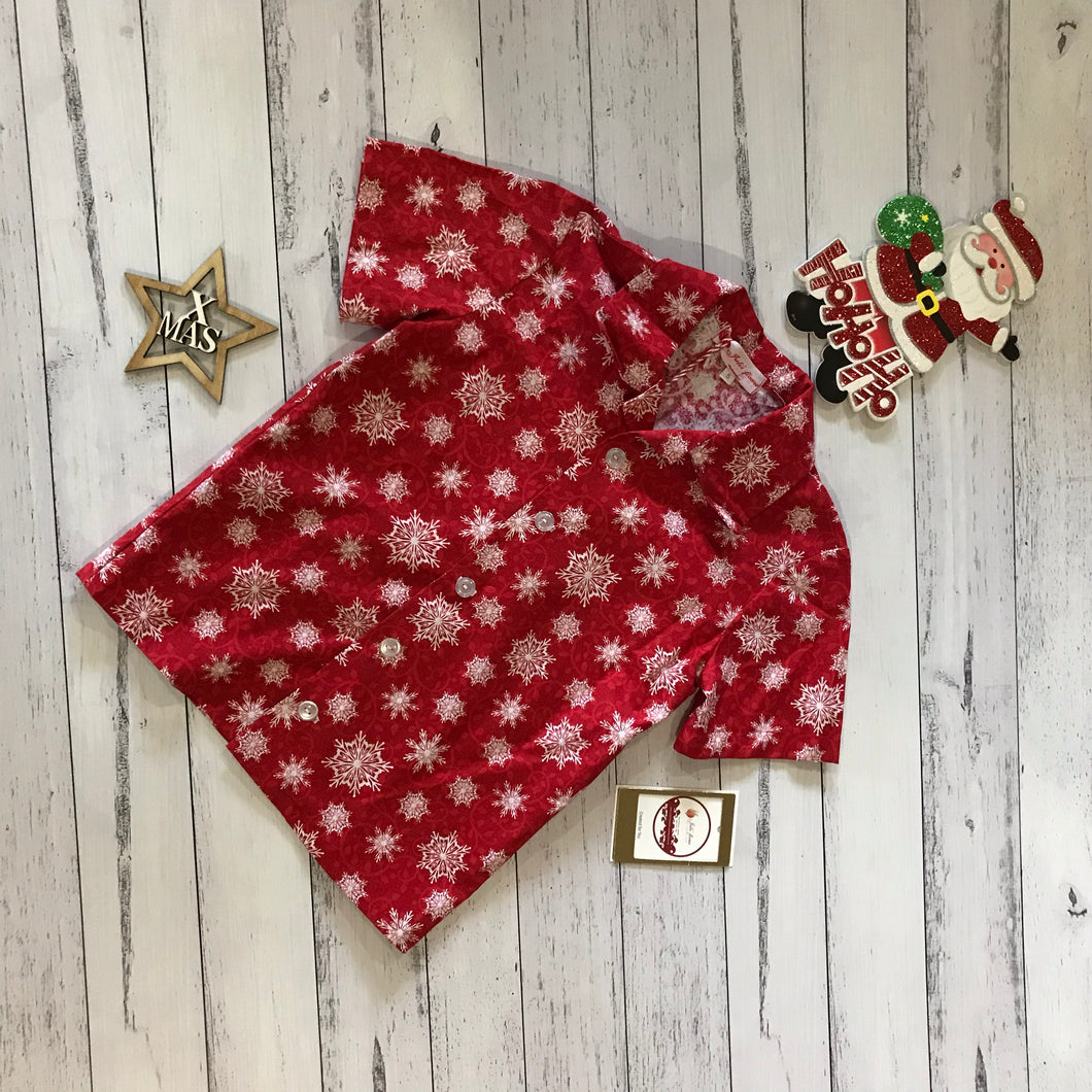 Red Christmas Shirt size 5