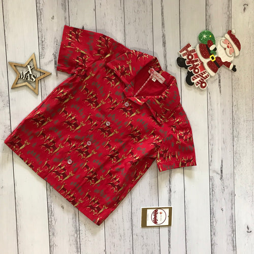Red Christmas Shirt size 2