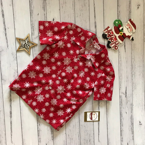 Red Christmas Shirt size 6