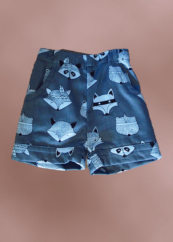 Boy's Raccoon Shorts