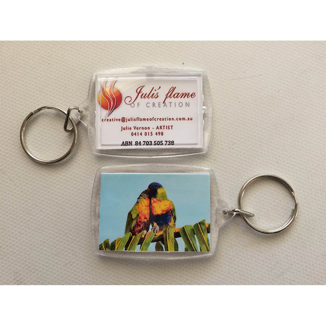 Key Ring - Lorikeets