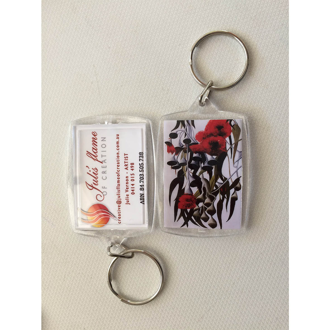 Key Ring - Silver Gums