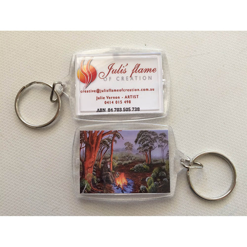 Key Ring - The Bushman