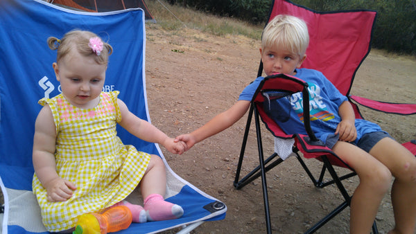 Xaria and August, Paso Picacho Campground