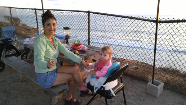 Dinner at south Carlsbad State Beach