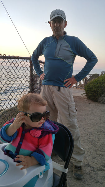 Ready for the Sunset at South Carlsbad State Beach