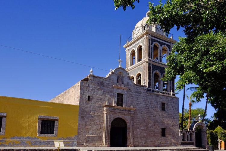Loreto Mission, the first Mission established in Baja