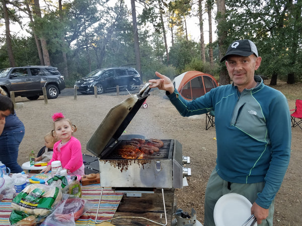 Grilling at Cuyamaca Rancho State Park