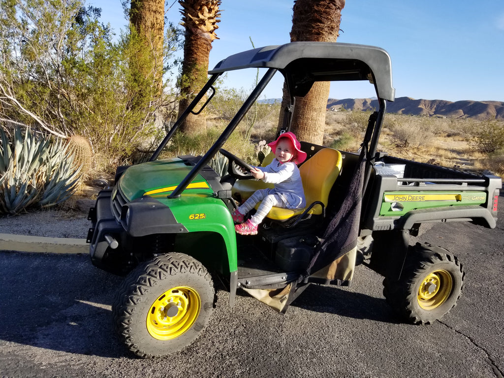 Xaria Thinks She's Found the Ideal Off-road Vehicle at Anza Borrego State Park
