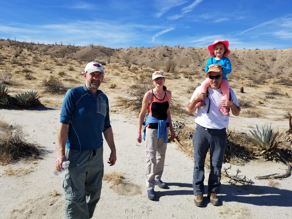 Completing Our Hike on San Felipe Wash, Anza Borrego State Park
