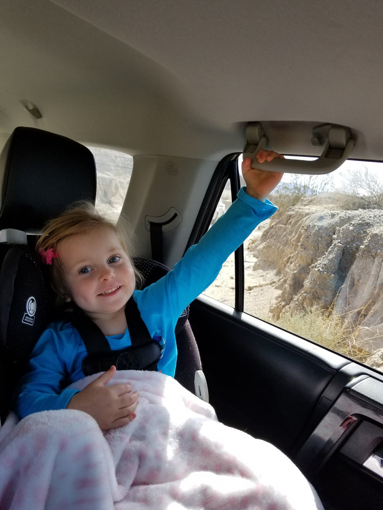 Xaria Loves to Offroad in Anza Borrego State Park