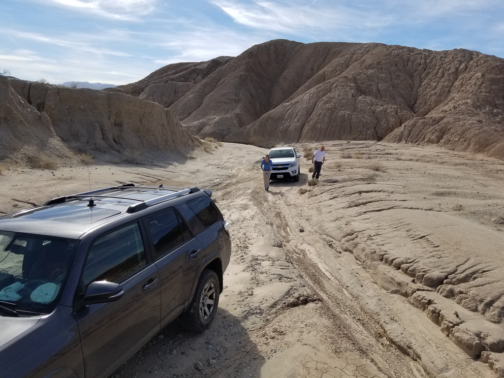 Off-Roading In San Felipe Wash, Anza Borrego State Park