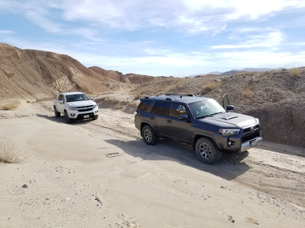 Off-Road in Anza Borrego State Park