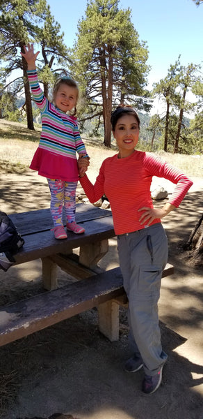 Enjoying Camping at Table Mountain Campground, Wrightwood, California
