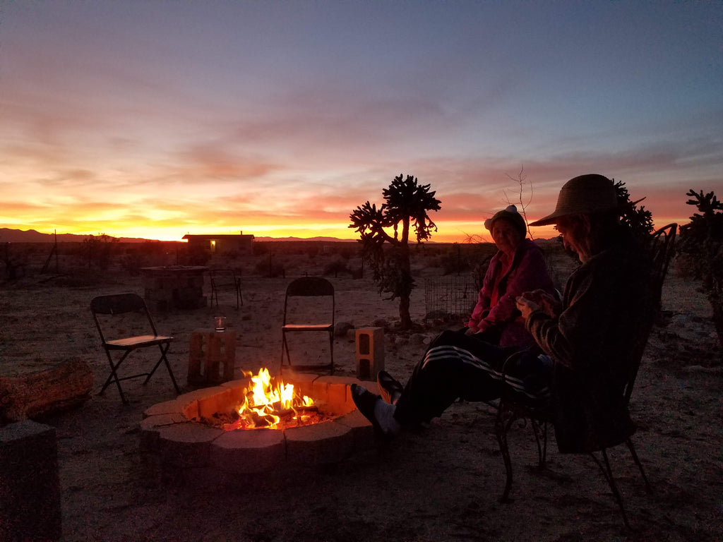 Gary Visits Joshua Tree National Park with Friends in November