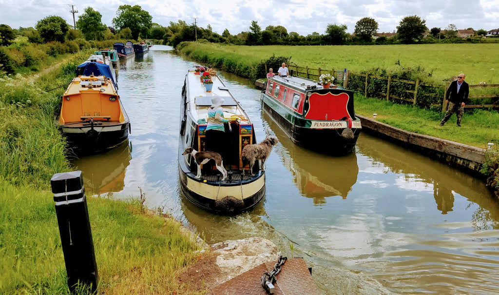 The Bustle of Life on the Kennett & Avon Canal, Near Semington, Wiltshire