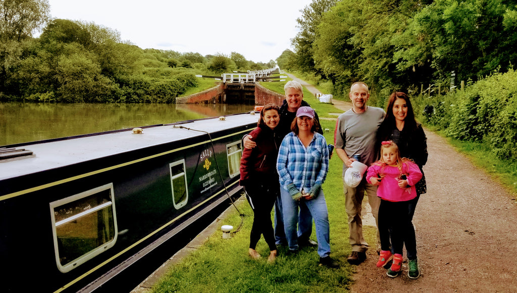 Conquering Caen Hill Locks Near Devizes