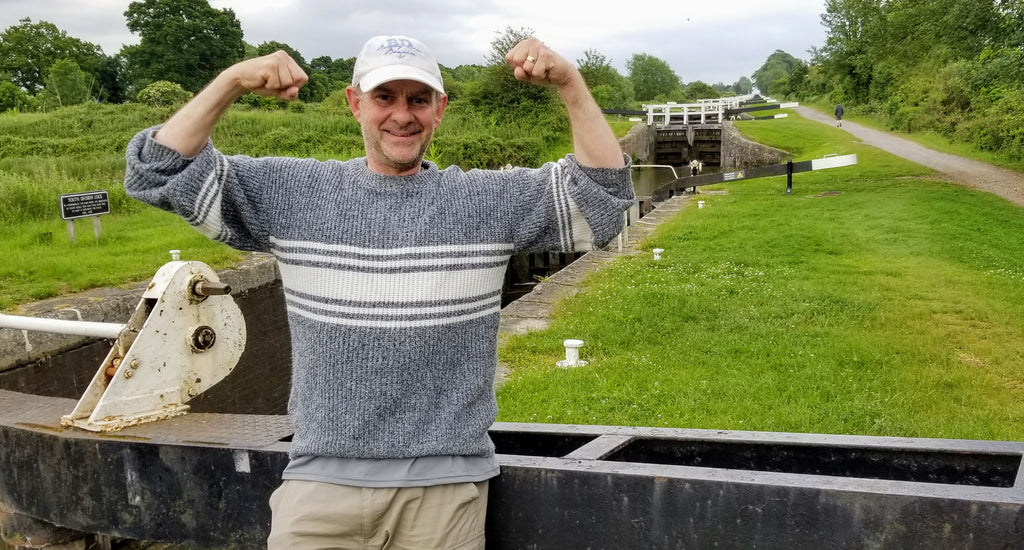 Conquering the locks at Caen Hill, Devizes, Wiltshire - Part of the Narrowboat Life