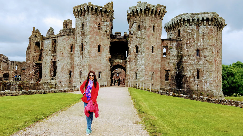 Raglan Castle, South Wales