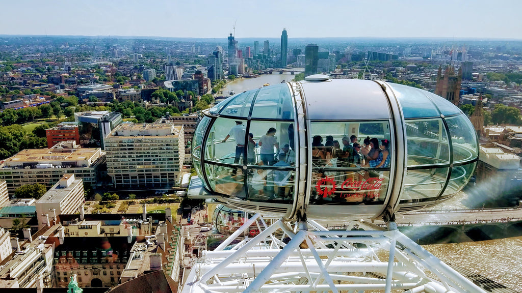 Visiting the Coke Cola London Eye - Living A Life Redesigned