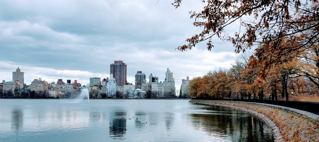 Jacqueline Kennedy Onassis Reservoir in Central Park, New York City