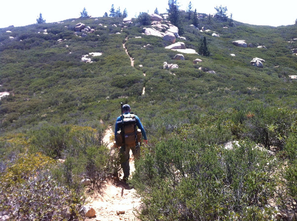 Approaching the Summit of Corte Madera Mountain, Cleveland National Forest