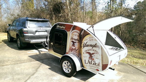 Littleguy 5 wide with graphic package for Yuengling Beer Giveaway.