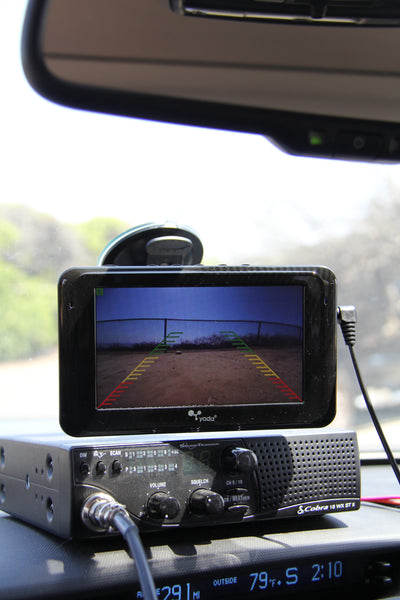 yada Flex Mount Backup Cam Dash Monitor