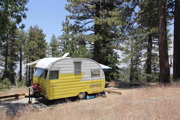 Classic Caravan at Table Mountain Campground, Angeles National Forest