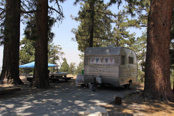 A Third Classic Trailer, Table mountain, Angeles National Forest