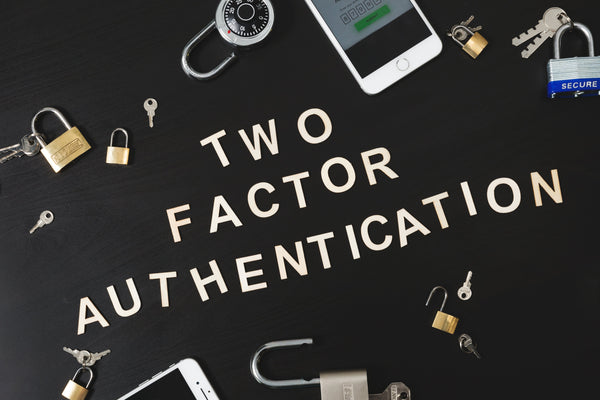 Using two-factor authentication to access websites and services
