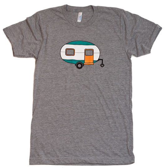 The crew collective adult trailer shirt
