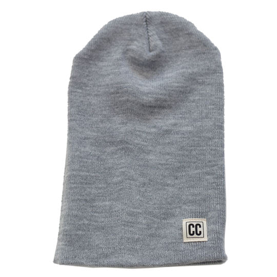 the crew collective - heather slouchy beanie