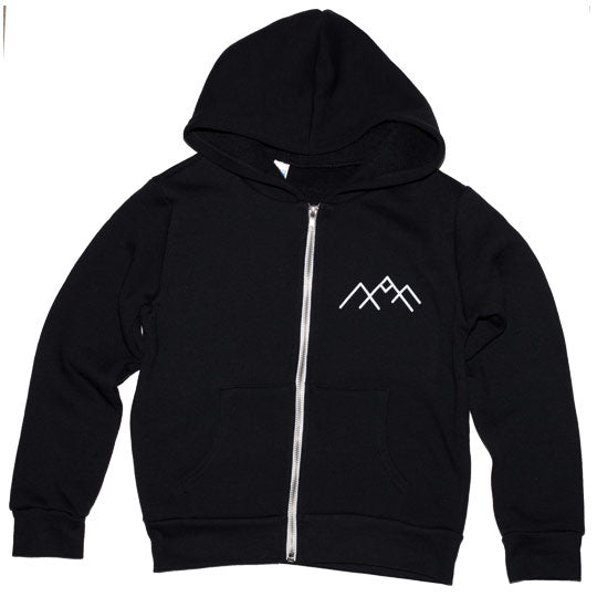 Mountain Zip-up Hoodie Youth