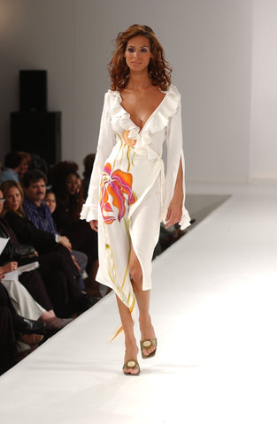 Wrap Dress - Kharla Khufu