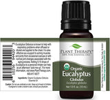 Plant Therapy Top 6 USDA Certified Organic Essential Oils Set. Includes: Eucalyptus, Lavender, Orange, Peppermint, Lemon and Tea Tree. 10mL (1/3 Ounce) each. : Beauty - Kharla Khufu