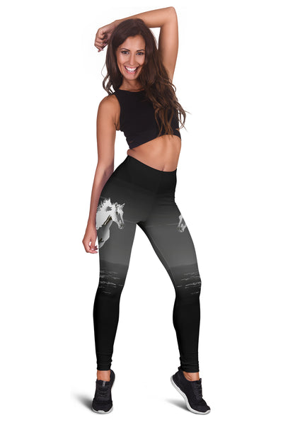 White Horse Leggings - Kharla Khufu