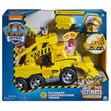 Rescue Construction Truck with Lights, Sound and Mini Vehicle, for Ages 3 and Up - Kharla Khufu