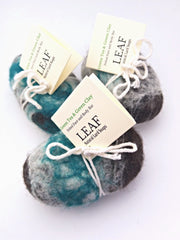 Exfoliating Natural Felted Soaps