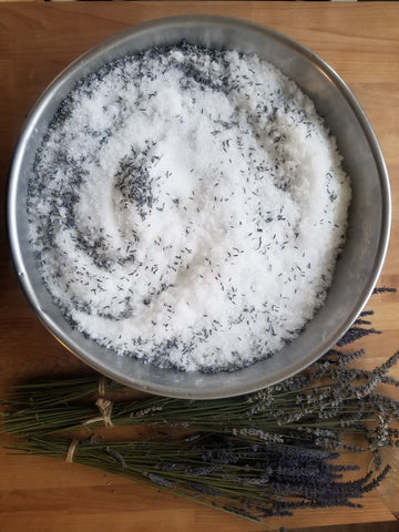 Relaxing Lavender Bath Soak